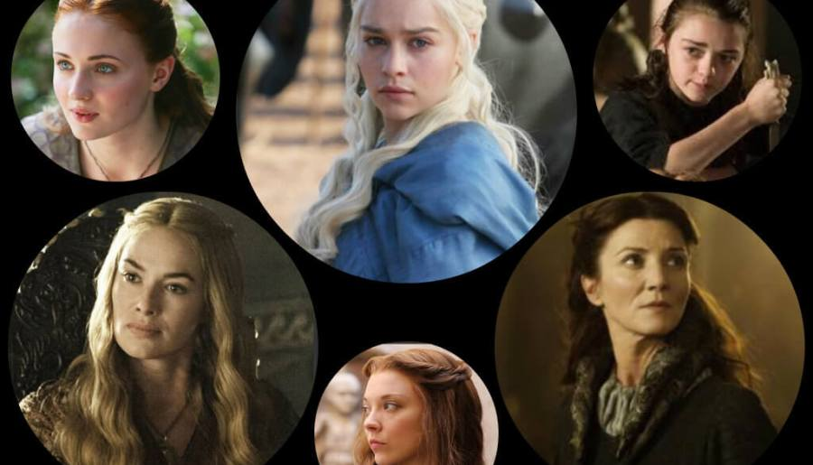 Ladies of game of thrones