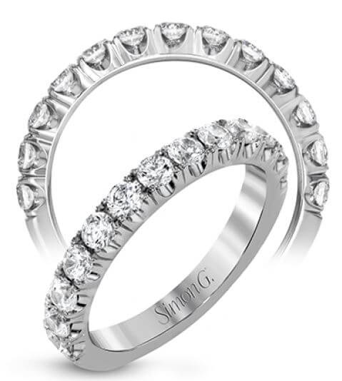 Simon G Passion Wedding Band LP2349 Available at Corinne Jewelers