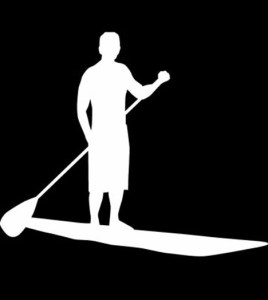 Flatwater SUP Pose
