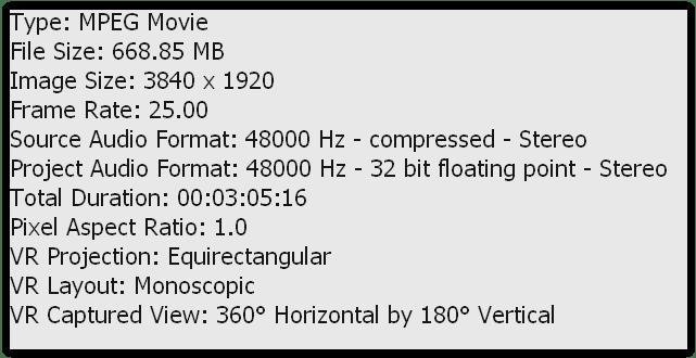 vr monoscopico 360