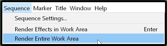rendering area di lavoro