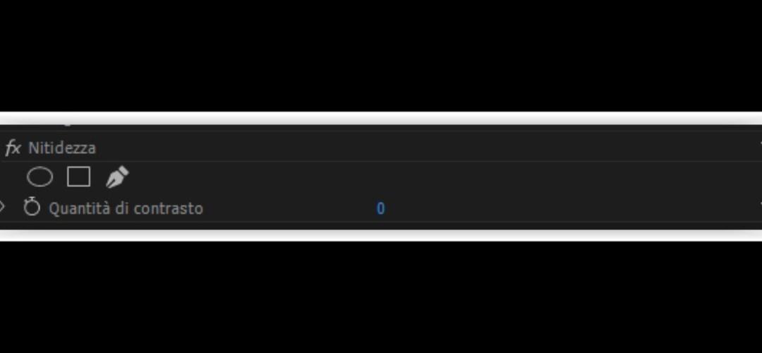 Color Correction su Premiere Pro – il trucco della nitidezza percepita – Tutorial #7