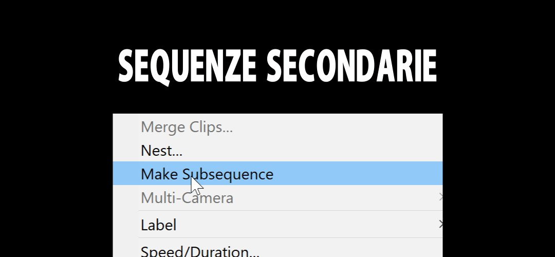 Sequenze secondarie: backup e frammentazione