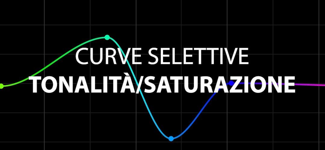 Curva selettiva Tonalità/Saturazione (CC 2019)