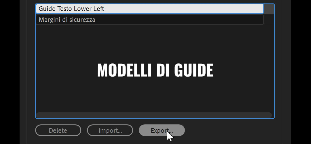 I modelli di guide