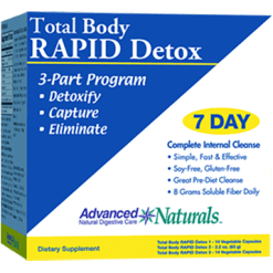 Advanced Naturals Total Body Rapid Detox 1 kit A16933