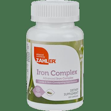 Advanced Nutrition by Zahler Iron Complex 100 caps Z80785