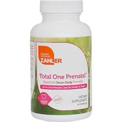 Advanced Nutrition by Zahler Total One Prenatal 60 caps Z81461