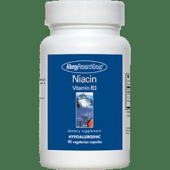 Allergy Research Group Niacin Vitamin B3 250 mg 90 caps NIACI