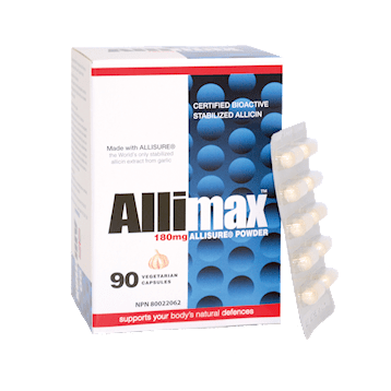 Allimax International Limited Allimax 180 mg 90 vegcaps A00260