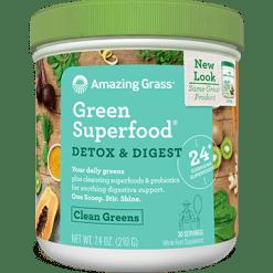 Amazing Grass Detox amp Digest Green SF 30 servings A04737