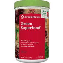 Amazing Grass Green SuperFood Powder Berry 60 serv BGSF2