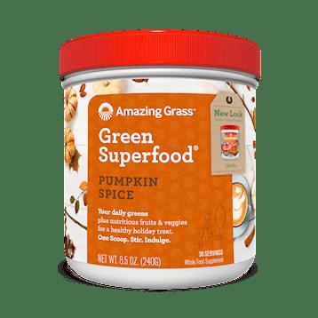 Amazing Grass Pumpkin Spice Green SuperFood 8.5 oz A01491