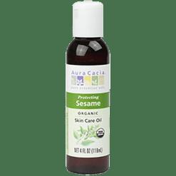 Aura Cacia Sesame Organic Skn Care Oil 4 oz A06092