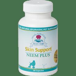 Ayush Herbs Skin Support Neem Plus Vet 90 caps AYV7