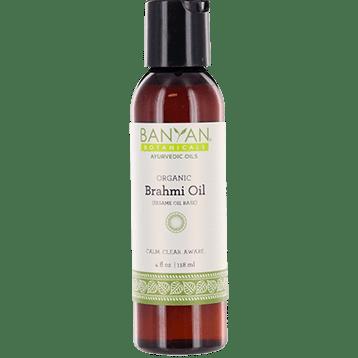 Banyan Botanicals Brahmi Oil Sesame Organic 4 oz BRAH4