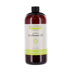 Banyan Botanicals Sunflower Oil Organic 34 oz SUNFL