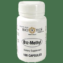 Bio Tech B12 Methyl 100 vegcaps B96704