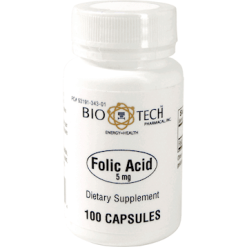 Bio Tech Folic Acid 5 mg 100 caps FOL12