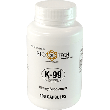 Bio Tech K 99™ Gluconate 100 caps POT21
