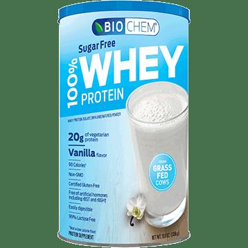 Biochem 100 Whey Sugar Free Vanilla 11.8 oz B20769
