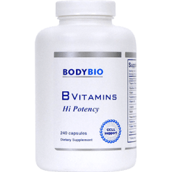 BodyBio E Lyte B Vitamins Hi Potency 240 caps SP811