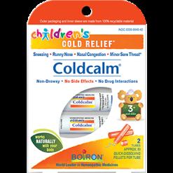 Boiron Childrens ColdCalm Pellets 2 tubes CHI46