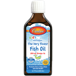 Carlson Labs Carlson®Kids Finest Fish Oil Orange200ml FISH9