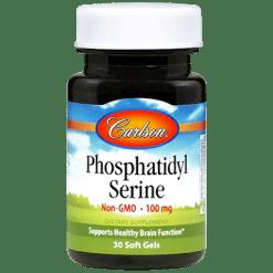 Carlson Labs Phosphatidyl Serine 100 mg 30 gels PHO34