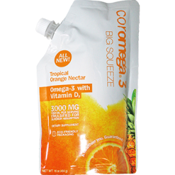 Coromega Big Squeeze Tropical Orange Nectar 16 oz C46009