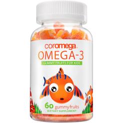 Coromega Omega3 for Kids 60 gummies C46003