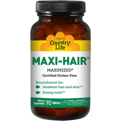 Country Life Maxi Hair 90 tabs C50292