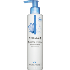 DERMA E Natural Bodycare Hydrating Cleanser w Hyluronic Acid 6 oz D04618