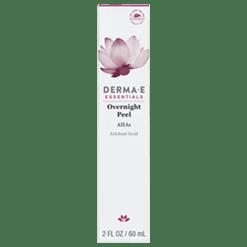 DERMA E Natural Bodycare Overnight Peel 2 oz D14907