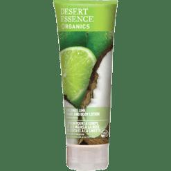 Desert Essence Coconut Lime Hand amp Body Lotion 8 fl oz D37746