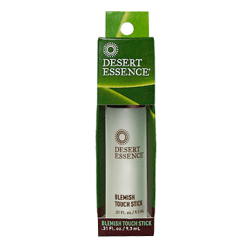 Desert Essence Tea Tree Oil Blemish Touch Stick 0.31 oz D20697