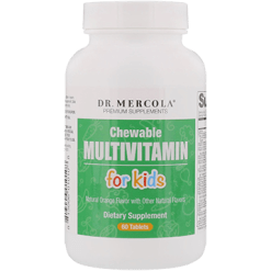 Dr. Mercola Childrens Chewable Multivitamin 60 tabs DM0108