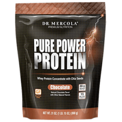 Dr. Mercola Pure Power Protein Chocolate 31 oz DM6049