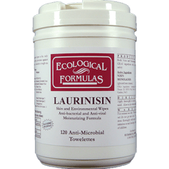 Ecological Formulas Laurinisin 120 Wipes EF32063