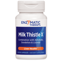Enzymatic Therapy Milk Thistle X™ 60 capsules MIL48