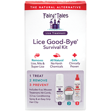 Fairy Tales Lice Good Bye Survival Kit FT1752