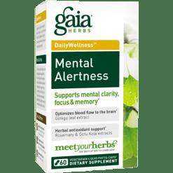 Gaia Herbs Mental Alertness 60 lvcaps MEN20