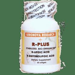 Geronova Research R Plus® 60 gels RP