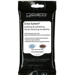 Giovanni Cosmetics Facial Cleansing Towelettes 10 ct G83637