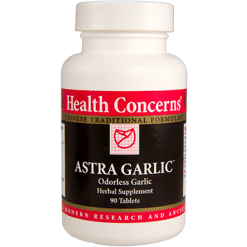 Health Concerns Astra Garlic 90 tabs AST38