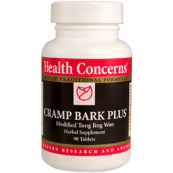 Health Concerns Cramp Bark Plus 90 tabs CRAM8