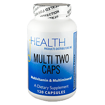 Health Products Distributors Multi Two Caps 120 capsules MU122