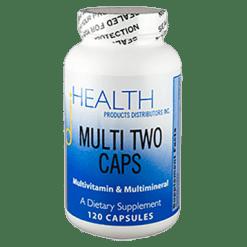 Health Products Distributors Multi Two Caps 120 capsules MU122