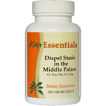 Kan Herbs Essentials Dispel Stasis in Middle Palace 120 tabs VDMP120