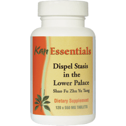 Kan Herbs Essentials Dispel Stasis in the Lower Palace 120tab VDLP120
